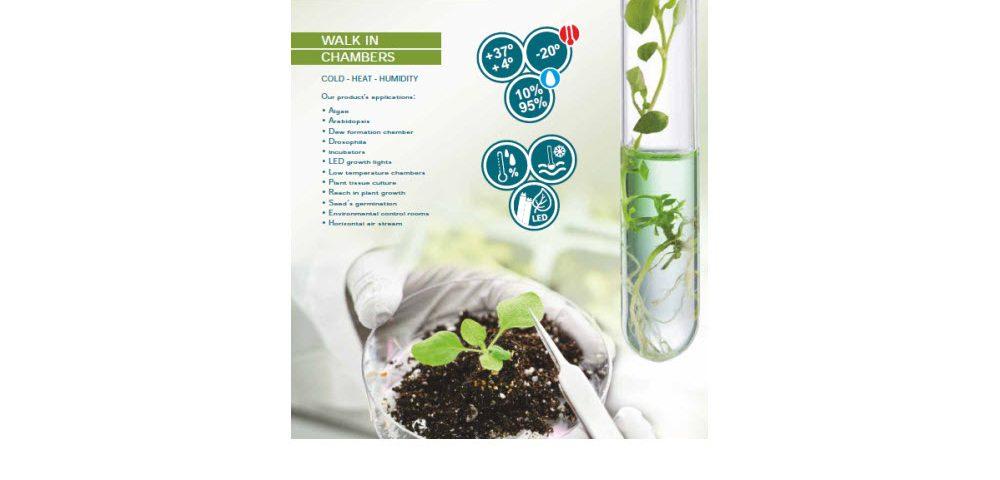 Cámaras panelables para el crecimiento de plantas EGCHS
