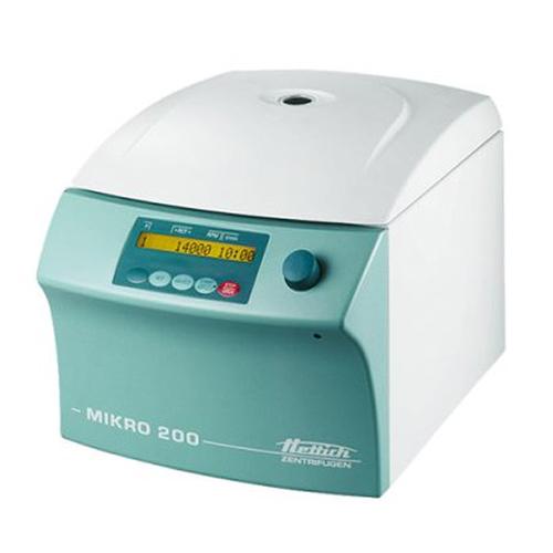 Microcentrífuga MIKRO 200 Distribuidor Equilabo