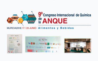 9º Congreso Internacional de Química ANQUE. Alimentos y Bebidas